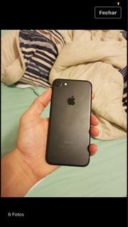 iPhone 7 32 Gb Com Caixa,fone, Carregador E Fone
