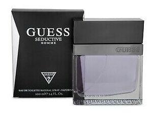 Guess Seductive Homme 3.4 Oz / 100 Ml Eau De Toilette Men...