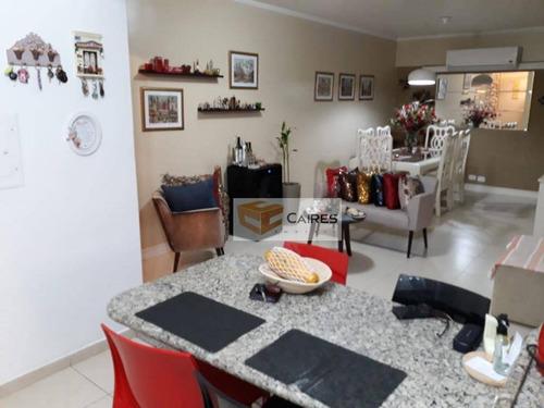 Imagem 1 de 21 de Apartamento Com 4 Dormitórios À Venda, 130 M² Por R$ 550.000,00 - Centro - Campinas/sp - Ap7818