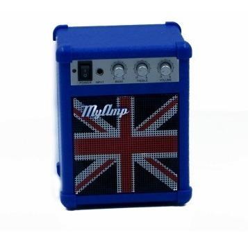 Miniatura Caixa Caixinha De Som Pc Inglaterra Amplificador