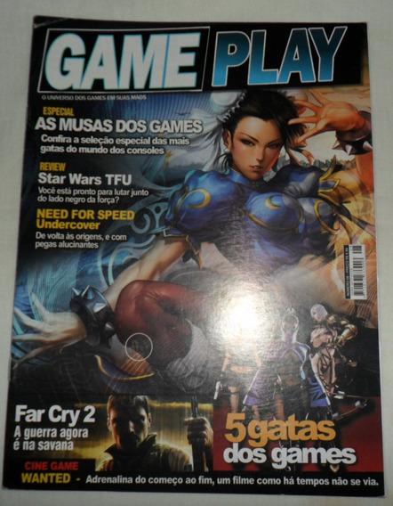 Revista Game Play Nº 08 - Especial As Musas Dos Games + Cd