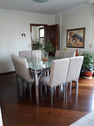 Imagem 1 de 12 de Apartamento Com 3 Dormitórios Para Alugar, 160 M² Por R$ 2.359,00/mês - Vila Bastos - Santo André/sp - Ap59810