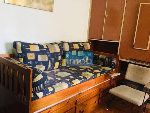 Imagem 1 de 18 de Apartamento Com 1 Dormitório À Venda, 53 M² Por R$ 185.000,00 - José Menino - Santos/sp - Ap8003