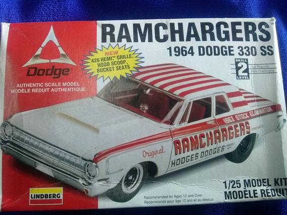 1964 Dodge 330 Ram Charger 25 Escala 1/25 Lindberg