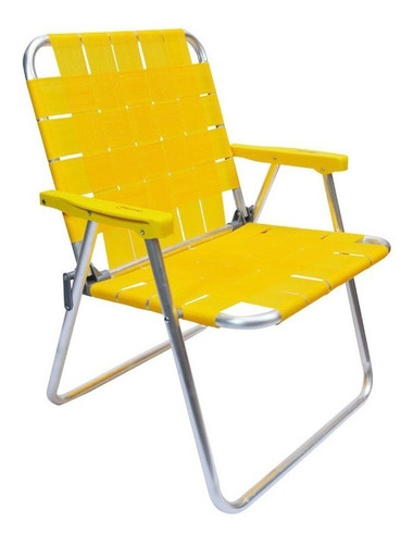 Silla Playa Descansar 80003 Plegable Aluminio Center Hogar