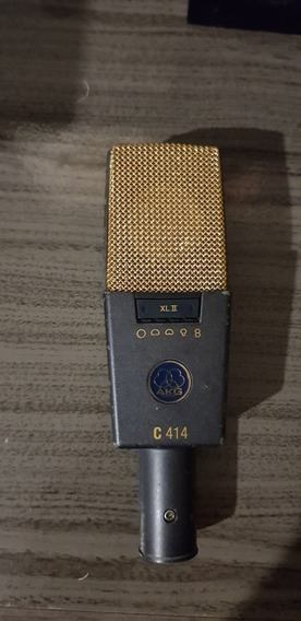 Microfone Akg C414 Xlii (ñ Neumann, Ñ Rode)