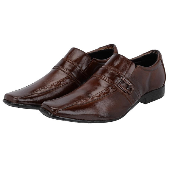 30% Off - Sapato Social Masculino Em Couro Legítimo