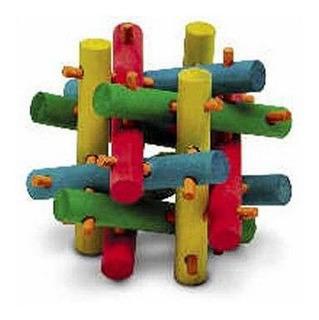 Juguete Cubo Mediano Knot Herbo Cuyo Conejo Erizo Chinchilla