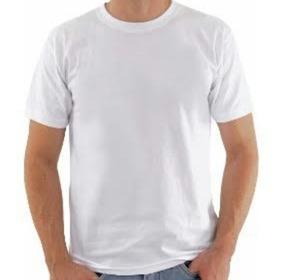 Kit 30 Camisetas Brancas Para Sublimação(5 De Cada Tamanho)