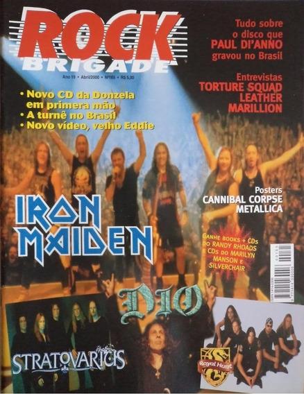 Rock Brigade 165 Iron Maiden Metallica Dio Stratovarius