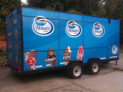 Trailer  - Food Truck  5,00 Mt