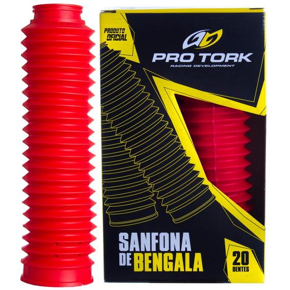 Sanfona Bengala Xlx 250 Agrale 20 Dentes Pro Tork Vermelho