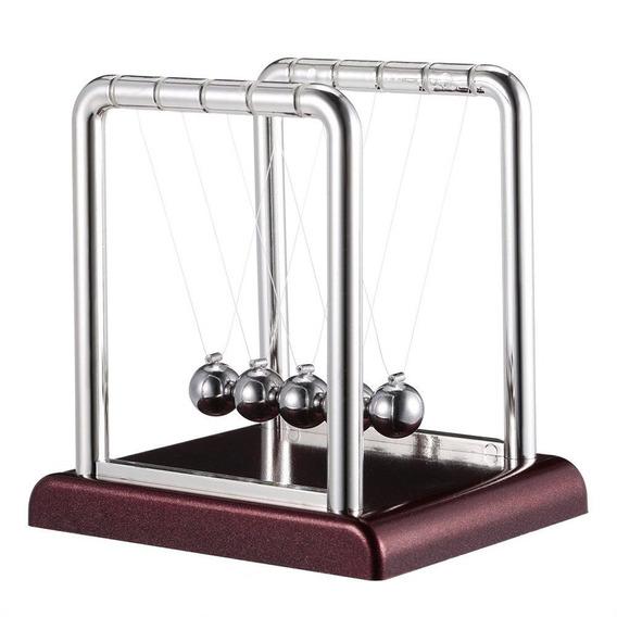 Pendulo De Newton Enfeite Decoracao Mesa Escritorio Sala