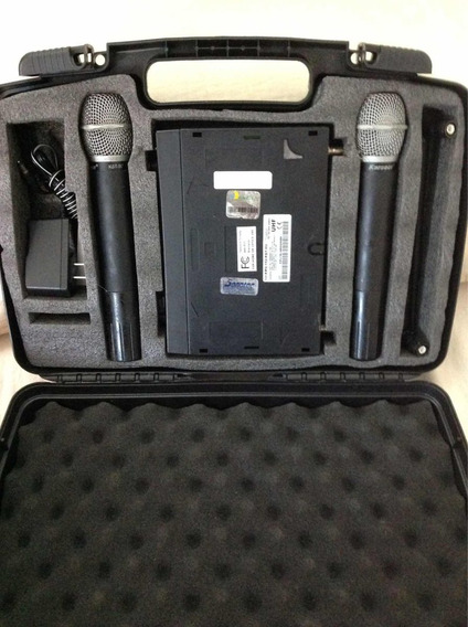 Sistema De Microfone Duplo Sem Fio Karsect Kru-161/162