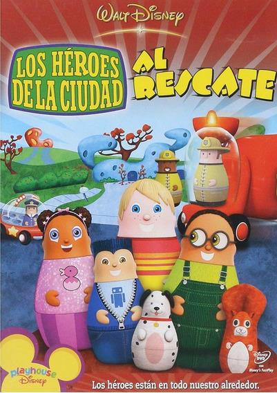 Los Heroes De La Ciudad Al Rescate Disney Pelicula Dvd