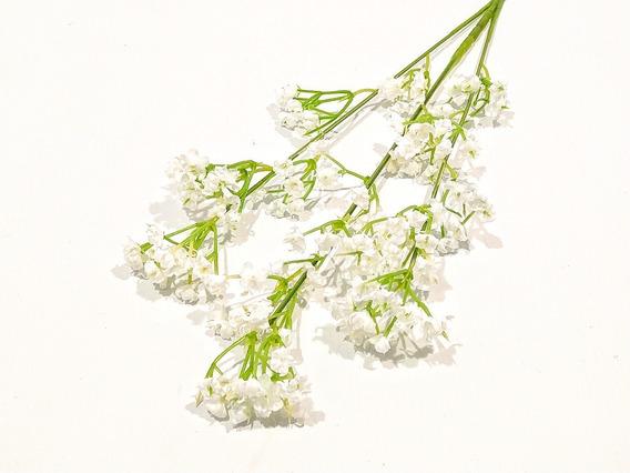 Vara Flor Silvestre Blanca Ramo Artificial Pacho