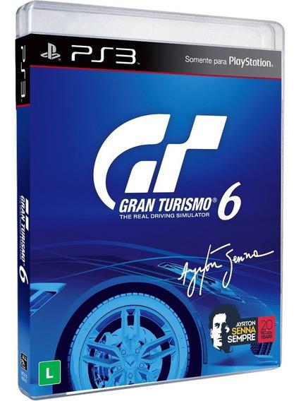 Gran Turismo 6 Gt6 Ps3 Original Em Português Mídia Física