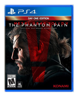 Metal Gear Solid V The Phantom Pain - Playstation 4 (físico)