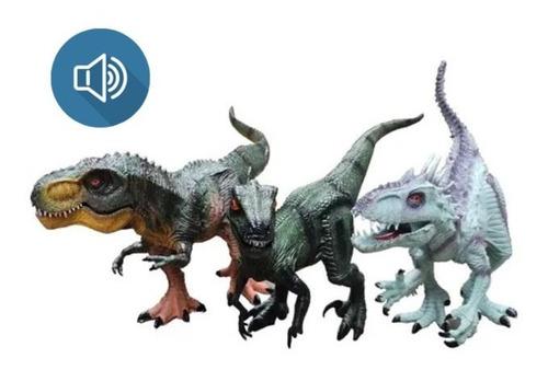 Imagen 1 de 2 de Dinosaurios T-rex Velociraptor Indominux Juguetes