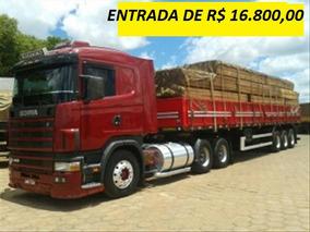 Scania 124 400 Ano 2005 Com Carreta Ls 2010