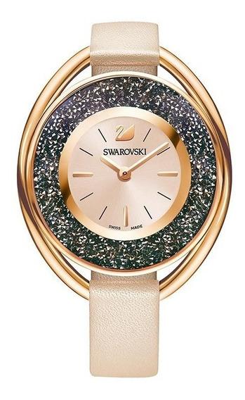 Swarovski Relógio Crystalline Oval - Garantia 2 Anos Brasil