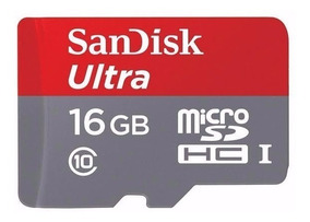 Cartão Memória 16gb Classe 10 Ultra 80 Mb/s 533x Galaxy Hd