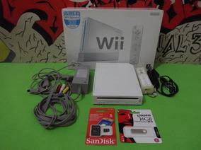 Nintendo Wii Com Retrocompatibilidade + Jogos E Acessorios