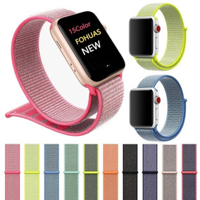 3 Pulseira Nylon Loop Sport Apple Watch 1 2 3 E 4 38/42mm