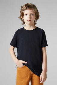 Camiseta Mini Pf Raglan Flame Reserva Mini