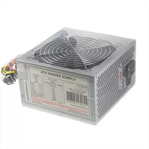 Kit 5 Fonte Pc 200w Reais Atx Real Computador + Frete Gratis