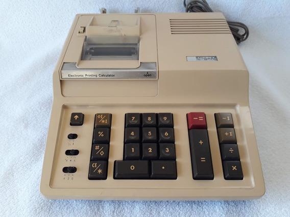 Calculadora Eletrônica De Bobina Sharp Antiga Modelo Cs 1153