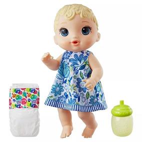 Boneca Baby Alive Hora Do Xixi Loira E0385