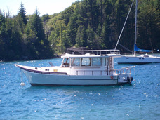 Barco De Madera Troller Americano
