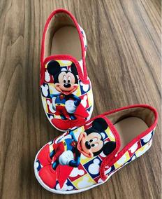 Tênis Sapatenis Infantil Do Mickey Mouse