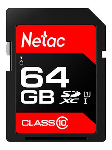 Cartão Memória 64gb Sdhc 100mb/s Netac