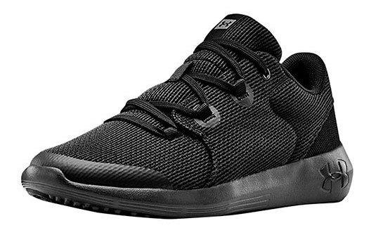 Under Armour Sneaker Casual Niño Negro Ripple Btk76529