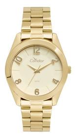 Relógio Condor Feminino Co2039aj/k4d + Colar E Brincos