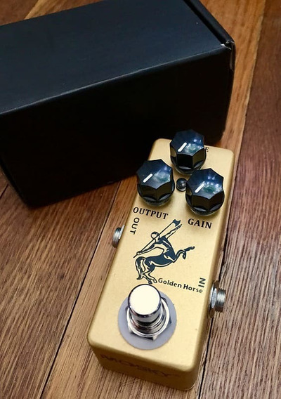 Pedal De Guitarra Golden Horse - Clone Do Klon Centaur
