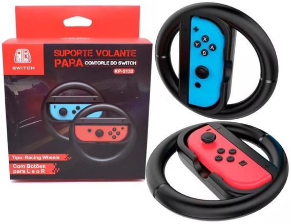 Par Volante Para Nintendo Switch Controle Joy-coin Grip Novo