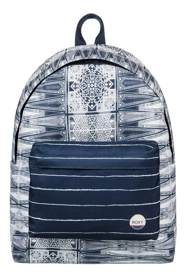 Mochila Roxy Be Young (btk7)-azul-unico