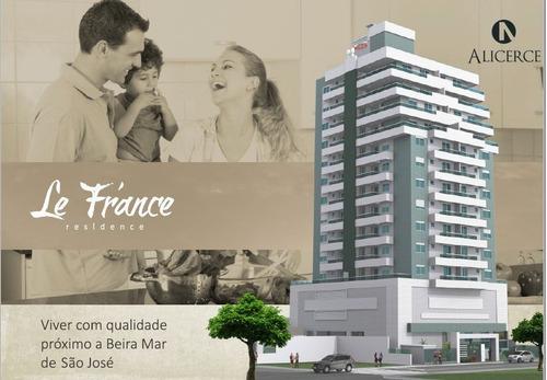 Residencial Le France - Kobrasol, São José! - 2478