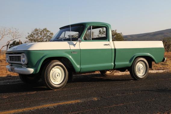 Chevrolet C-14 ; Ano 1967- Cores Verde E Branca- Único Dono