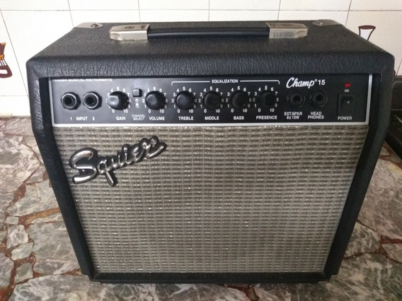 Amplificador De Guitarra Squier Champ -15 Impecable Permutas