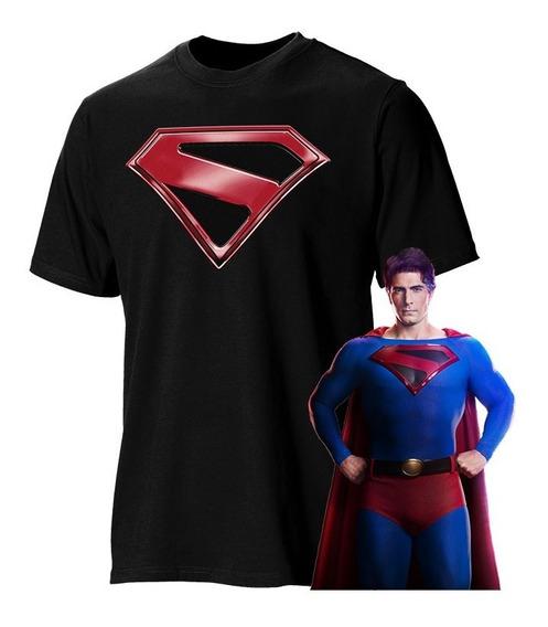 Playera Superman Crisis En Tierras Infinitas Flash Arrow