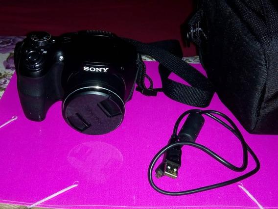 Câmera Semi Profissional Da Sony