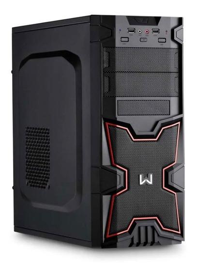 Desktop Warrior Gamer Minisink Amd Ryzen Dt201 Multilaser
