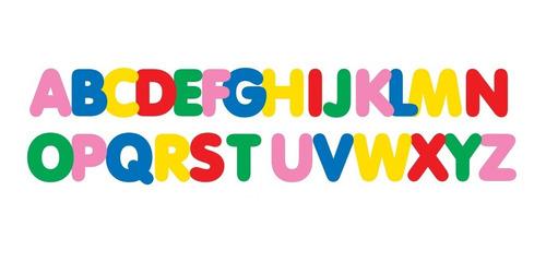 Imagem 1 de 1 de Alfabeto De Eva Gigante Colorido