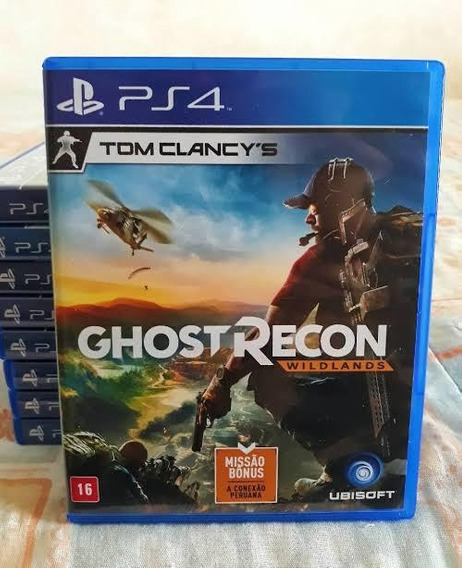 Jogo Ps4 Ghost Recon