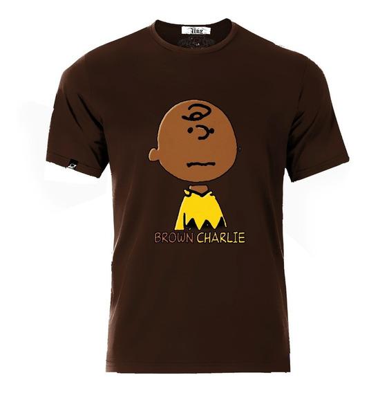 Playera O Camiseta Charlie Brown Moreno Brown Charlie Unisex