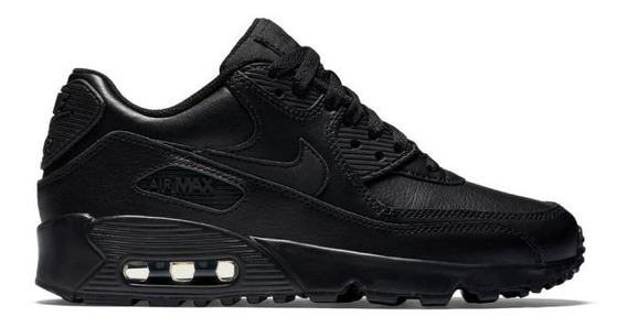 Zapatillas Air Max 90 Negras 9.5 Us / Plantilla 26.5 Cm